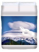 Cloud Cap Duvet Cover