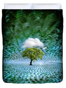 Cloud Cover Recurring Duvet Cover