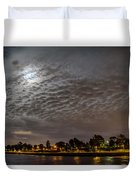 Cloud Covered Moon Duvet Cover