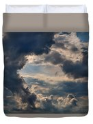 Cloud Formations Boiling Up Duvet Cover