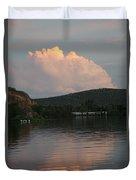 Cloud Lake Reflection Duvet Cover