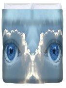 Cloud Mask Duvet Cover