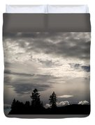 Cloud Study 1 Duvet Cover