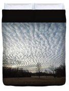 Cloud Symmetry Duvet Cover