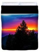Cloudcroft Sunset Duvet Cover
