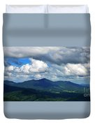 Clouded Landscape Duvet Cover