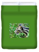 Clouded Leopard In The Grass Duvet Cover