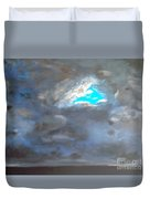 Cloudhole Duvet Cover