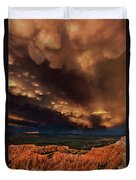 Clouds And Thunderstorm Bryce Canyon National Park  Duvet Cover