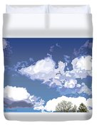 Blue Afternoon Duvet Cover