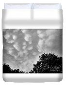 Clouds Before The Storm Duvet Cover