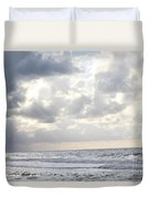Clouds By The Sea Duvet Cover
