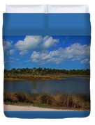 Clouds Gather Duvet Cover