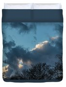 Clouds In Afternoon 20170326 7199 Duvet Cover