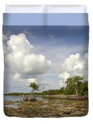 Clouds In The Keys 2 Duvet Cover