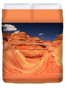 Clouds Kissing The Wave Duvet Cover