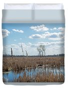 Clouds Of Cotton Duvet Cover