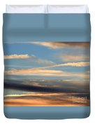 Clouds Of Natural Art Duvet Cover