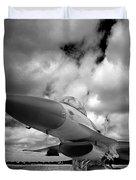 Clouds Of War Duvet Cover