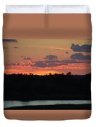 Clouds On Fire - Thousand Island Sunset -  Duvet Cover