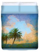 Clouds On The Loop Duvet Cover