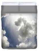 Clouds On The Sky Duvet Cover