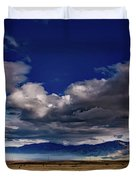 Clouds Over California Duvet Cover