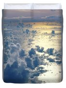 Clouds Over Ocean Duvet Cover