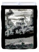 Clouds Over St Thomas At Dusk 1 Duvet Cover