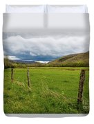 Clouds Over The Hills Duvet Cover