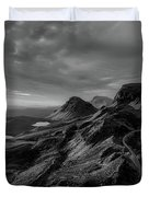 Clouds Over The Isle Of Skye Duvet Cover