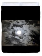 Clouds Over The Moon Duvet Cover