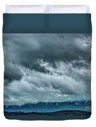 Clouds Over The Mountans 1329tmt Duvet Cover