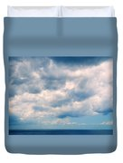 Clouds Over The Sea Duvet Cover