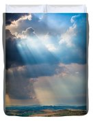 Clouds Over Tuscany Duvet Cover