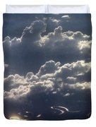 Cloudscape And River Duvet Cover