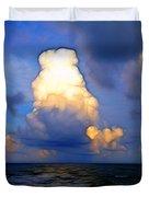 Cloudy Beach Duvet Cover