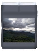 Cloudy Environment  Duvet Cover