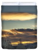 Cloudy Mothership Duvet Cover