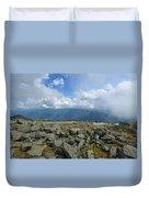 Cloudy Mount Washington Road Duvet Cover
