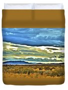 Cloudy Sunday Drive Duvet Cover