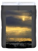 Cloudy Sunrise 4 Duvet Cover