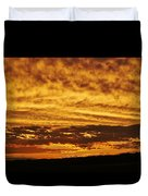 Cloudy Sunset Duvet Cover