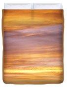 Cloudy Sunset Sky Duvet Cover