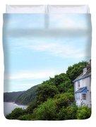 Clovelly - England Duvet Cover