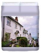 Clovelly Street View Duvet Cover