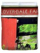 Clover Dale Farm Duvet Cover