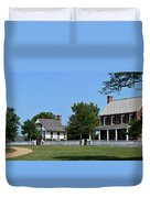 Clover Hill Tavern Appomattox Court House Virginia Duvet Cover