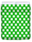 Clover Titled  - Pattern Duvet Cover