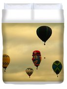Clown Balloon Duvet Cover